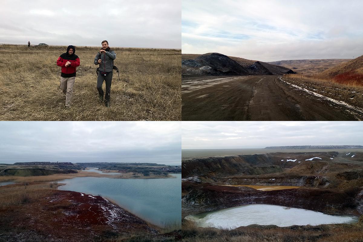 stepy Kazachstanu w drodze na szczyt