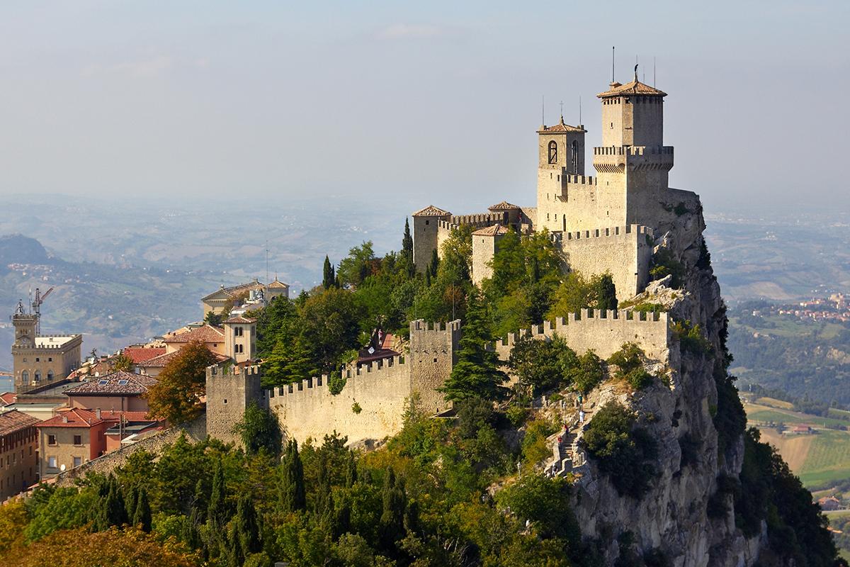 San Marino - (źródło: https://en.wikipedia.org/wiki/Guaita)
