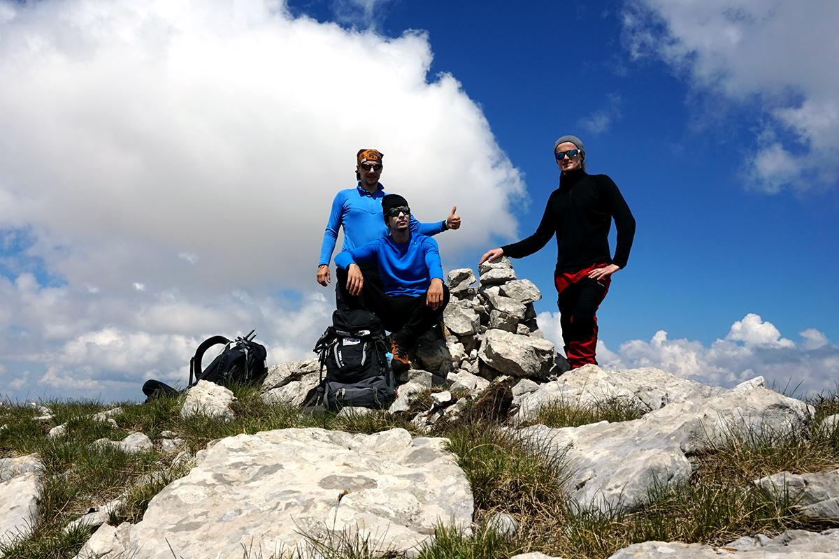 Dawid, Norbert i Grzegorz - Czarnogóra, Zla Kolata wysokość 2534 m n.p.m.