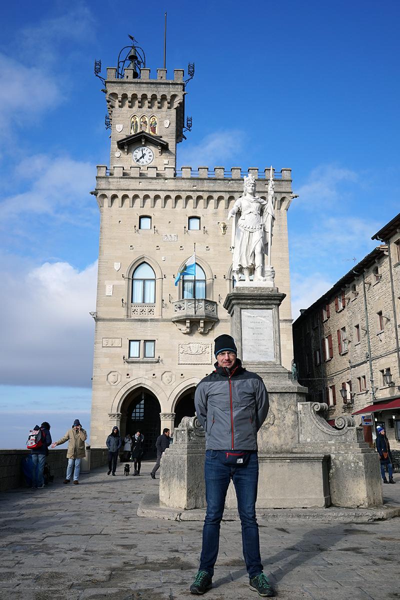 """""""palazzo pubblico"""", siedziba regentów i wielkiej rady"""