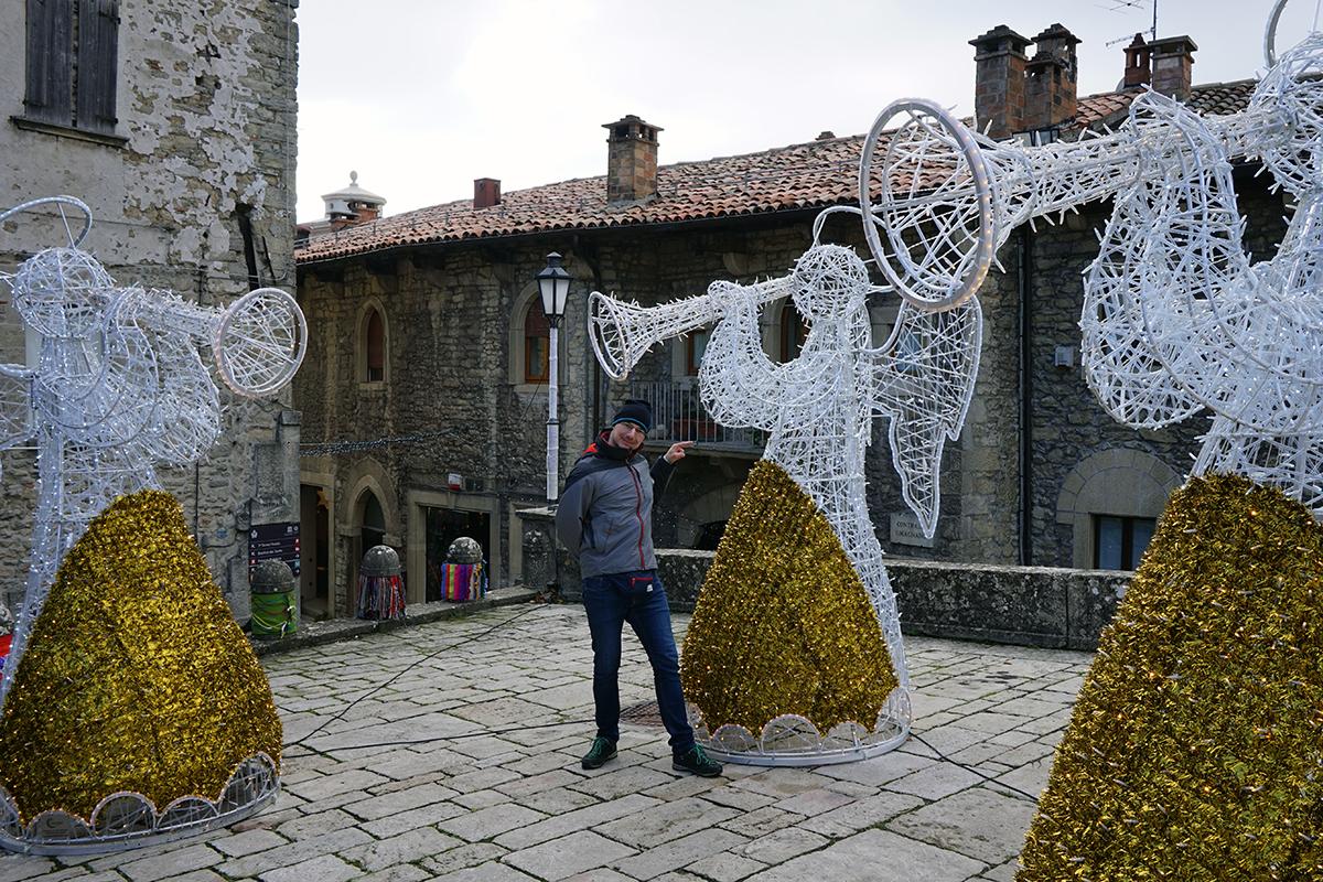w San Marino znajdziemy nawet Anioły ...