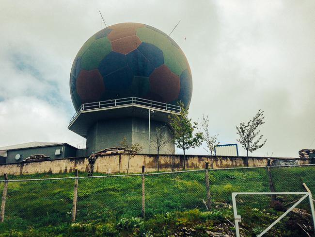 radar na Mahya Dagi, źródło: http://www.peakbagger.com