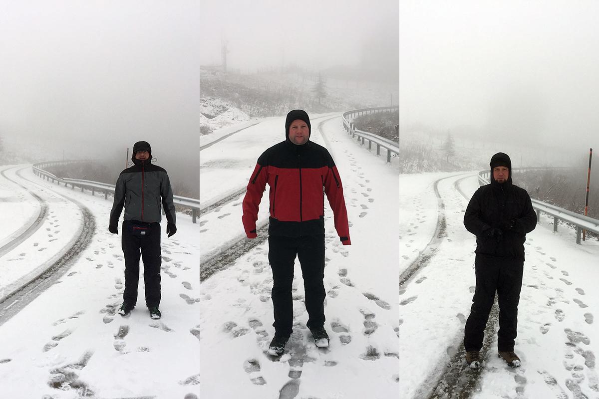 zamglony szczyt Mahya Dagi 1031 m n.p.m.