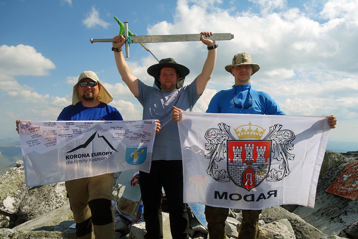 trzech koroniarzy, Michał, Maciek i Dawid