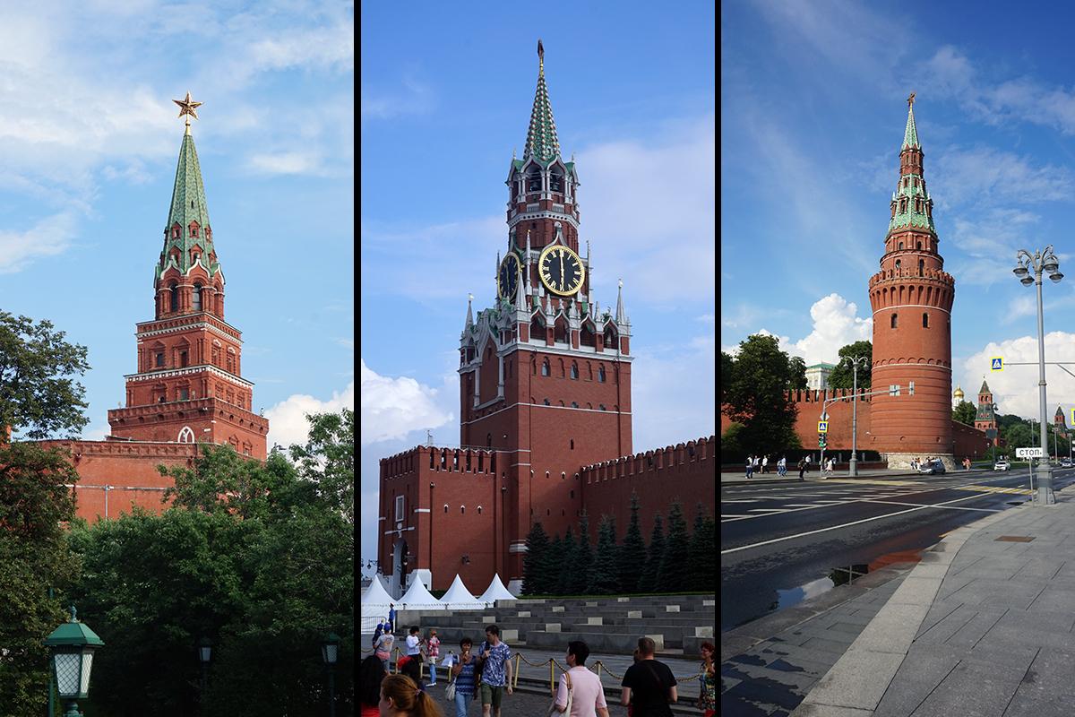 wieże Kremla